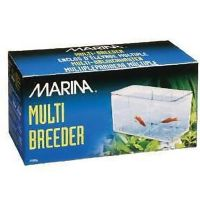 Marina Multi Breeder 5 Way Breeding Trap Isolation Chamber Protect Aquarium Tank